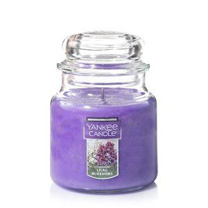 Lilac Blossoms Medium Jar Candles