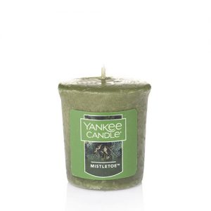 Mistletoe Samplers Votive Candle