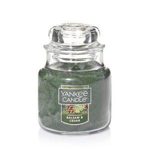 Balsam & Cedar Small Jar Candles