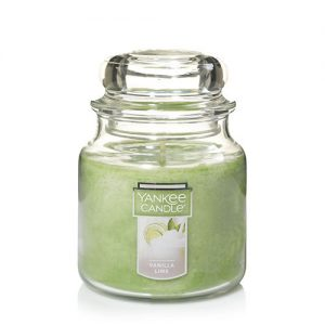 Vanilla Lime Medium Jar Candles