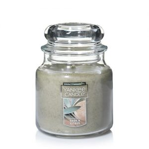 Sage & Citrus Medium Jar Candles