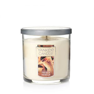 French Vanilla Small Tumbler Candle (Single Wick)