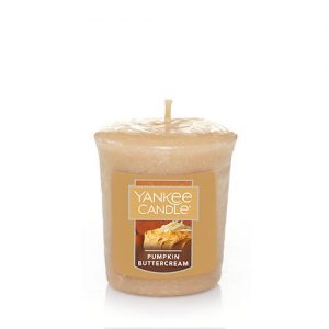 Pumpkin Buttercream  Samplers Votive Candle