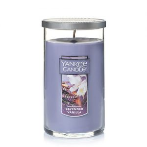 Lavender Vanilla Medium Perfect Pillar Candles