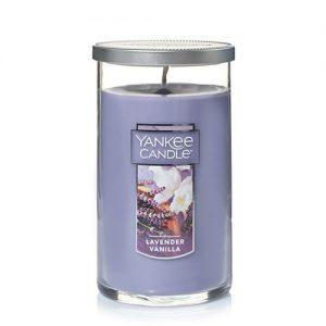 Lavender Vanilla Medium Perfect Pillar Candles