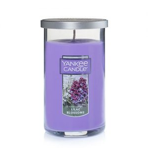 Lilac Blossoms Medium Perfect Pillar Candles