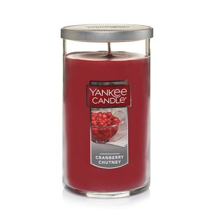 Cranberry Chutney Medium Perfect Pillar Candles
