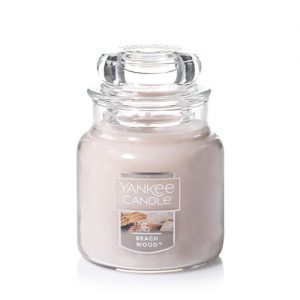 Beach Wood Small Jar Candle
