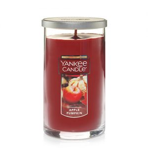 Apple Pumpkin Medium Perfect Pillar Candles
