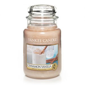 Cinnamon Vanilla Large Jar Candle
