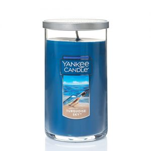 Turquoise Sky™ Medium Perfect Pillar Candles