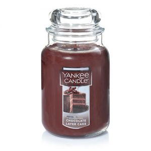 Chocolate Layer Cake Large Jar Candles