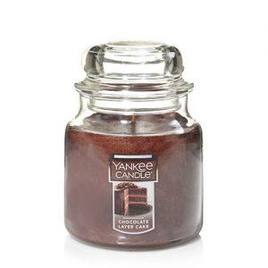 Chocolate Layer Cake Medium Jar Candles