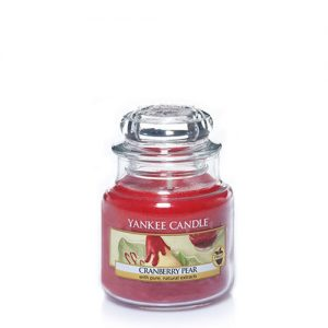 Cranberry Pear Small Jar Candles