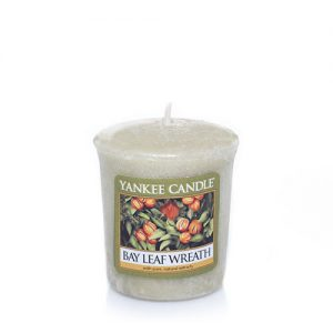 Bay Leaf Wreath Samplers® Votive Candles