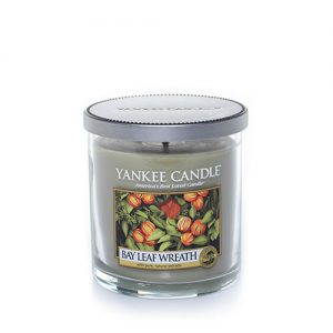 Bay Leaf Wreath Small Tumbler Candles