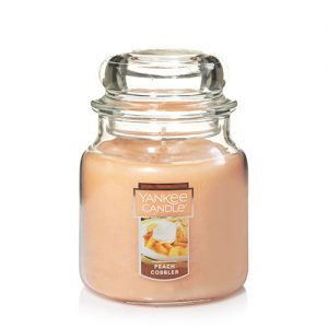 Peach Cobbler Medium Jar Candle