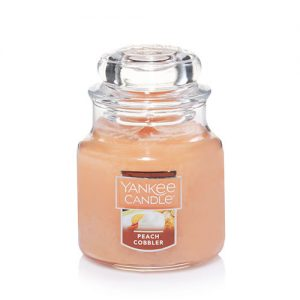 Peach Cobbler Small Jar Candle