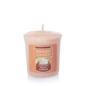 Peach Cobbler Samplers Votives Candle