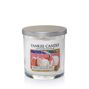 White Chocolate Apple Small Tumbler  Candle