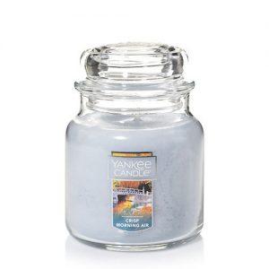 Crisp Morning Air Medium Jar Candle