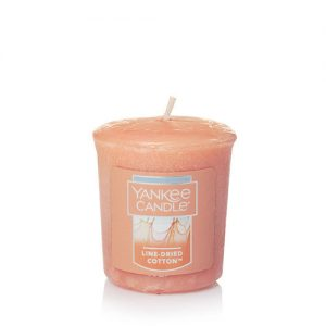 Line-Dried Cotton Samplers Votives Candle