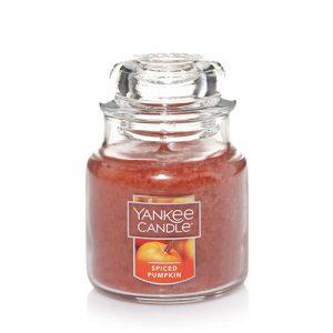 Spiced Pumpkin Small Jar Candle