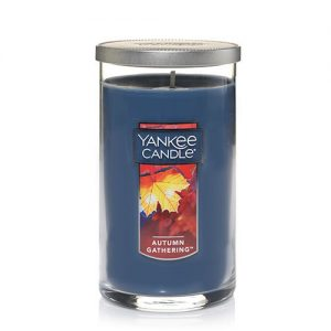 Autumn Gathering Medium Perfect Pillar Candle