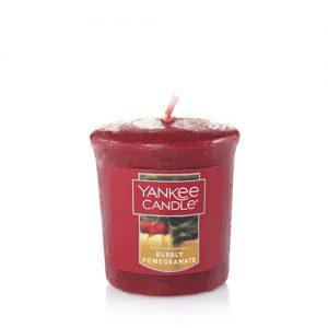 Bubbly Pomegranate Samplers Votive Candle