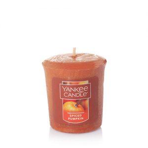 Spiced Pumpkin Samplers Votive Candle